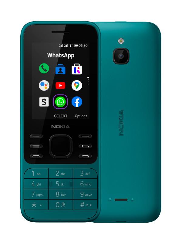 Сотовый телефон Nokia 6300 4G Cyan