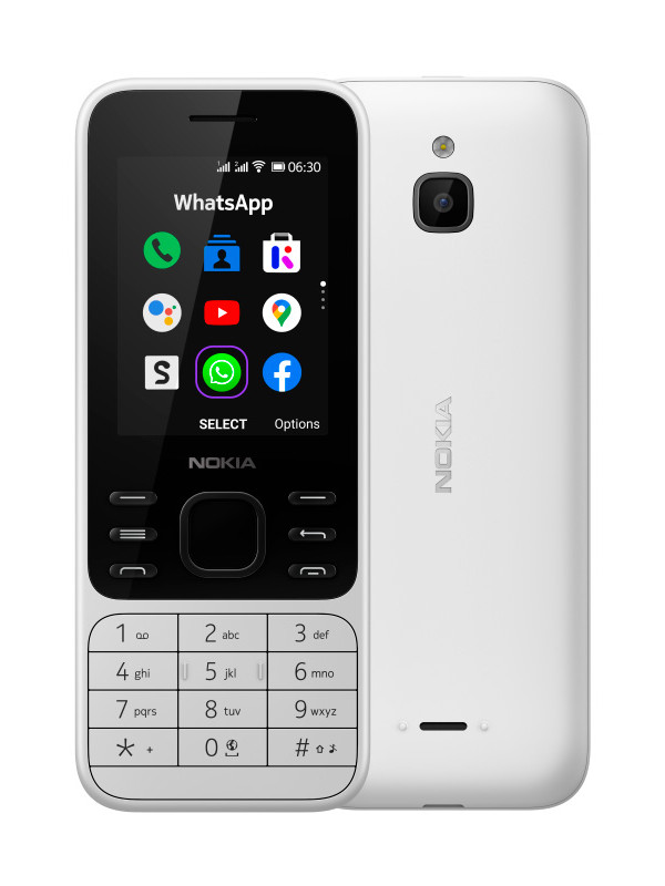 Сотовый телефон Nokia 6300 4G White