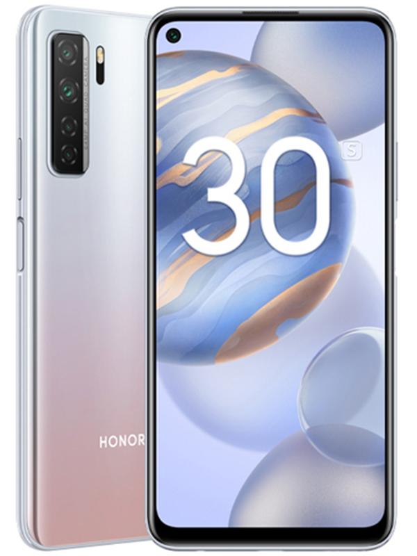 Сотовый телефон Honor 30S 6/128Gb Titanium Silver Выгодный набор для Selfie + серт. 200Р!!!