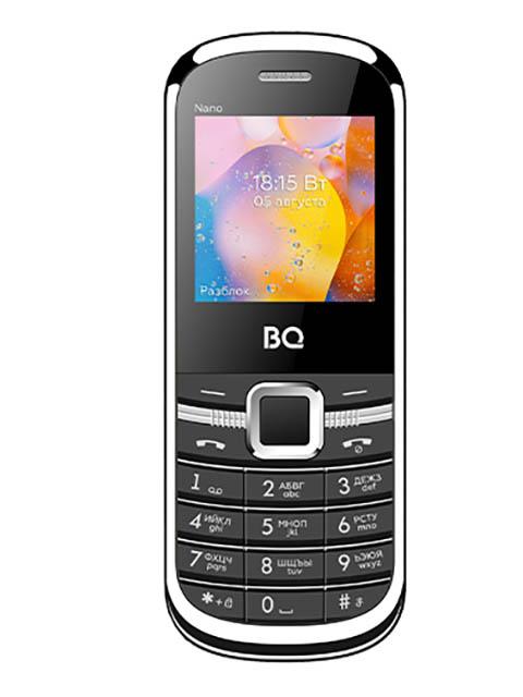 Сотовый телефон BQ 1415 Nano Black-Silver