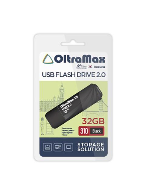 USB Flash Drive 32GB - OltraMax 310 2.0 OM-32GB-310-Black