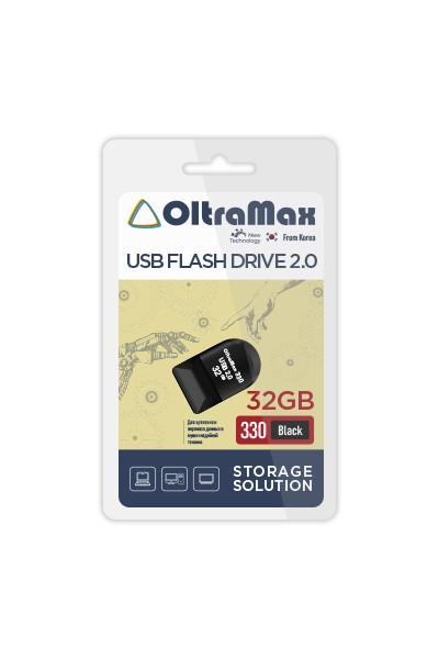 Фото - USB Flash Drive 32GB - OltraMax 330 2.0 OM-32GB-330-Black usb flash drive 64gb oltramax 330 om 64gb 330 black