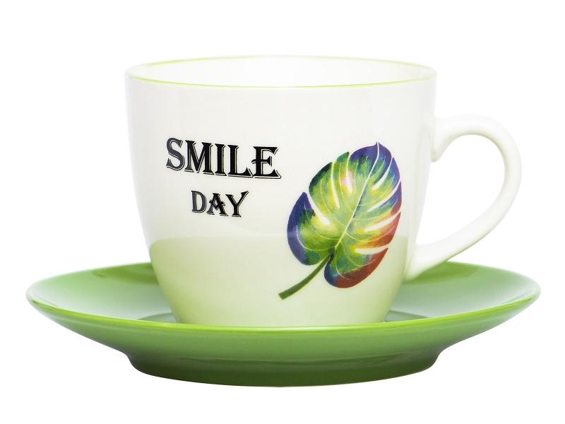 Кружка Эврика Монстера Smile Day 220ml 99934