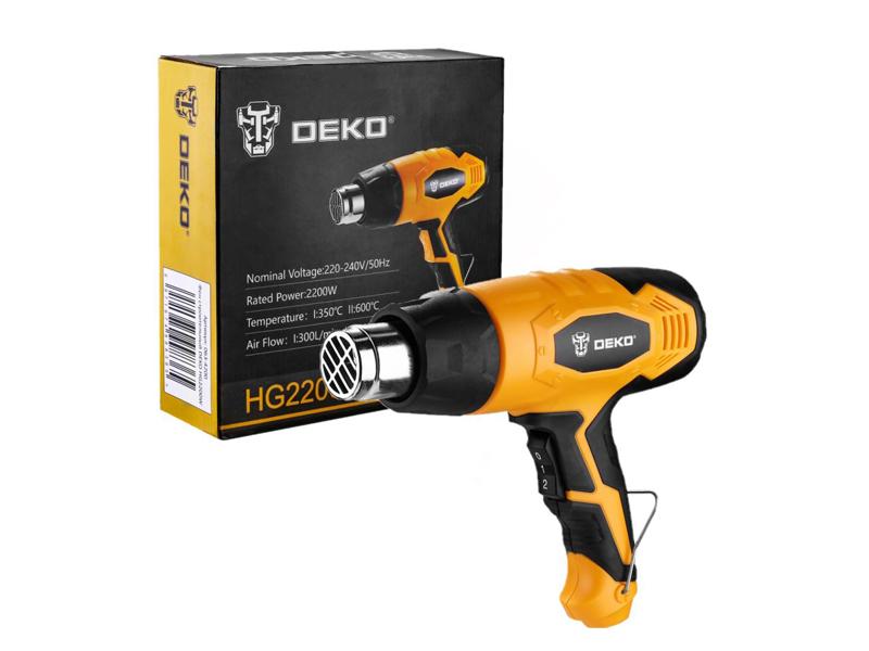 Строительный фен Deko HG2200W 063-4200