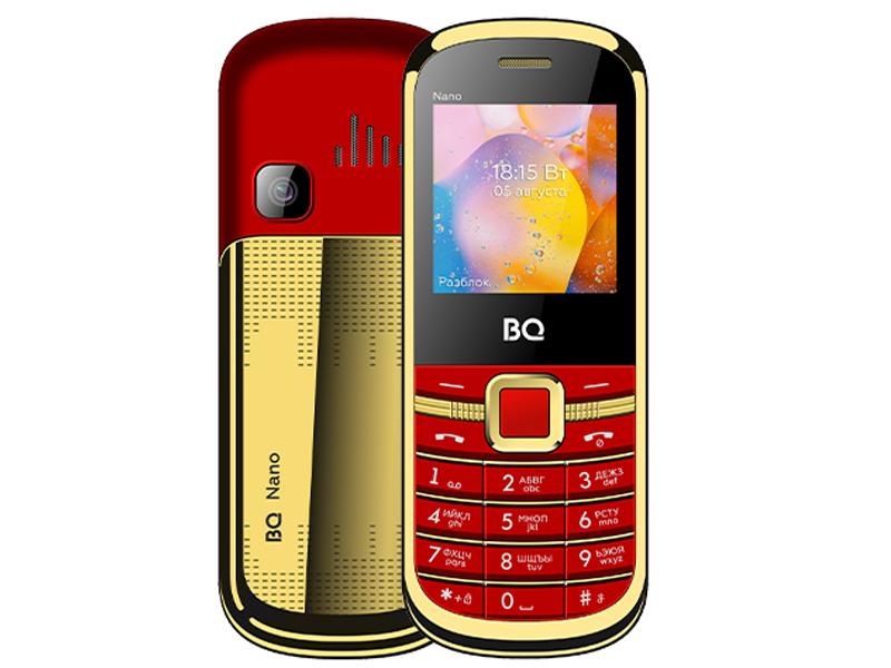 Сотовый телефон BQ 1415 Nano Red-Gold