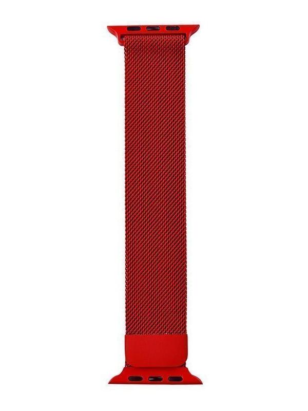 Аксессуар Ремешок Activ для APPLE Watch 42/44mm Milanese Red 99610
