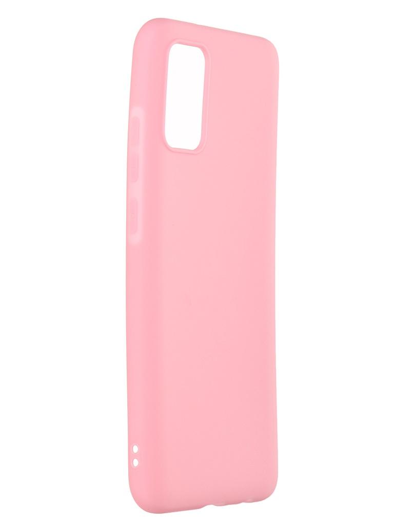 Чехол Neypo для Samsung Galaxy A02s 2021 Soft Matte Silicone Pink NST20532
