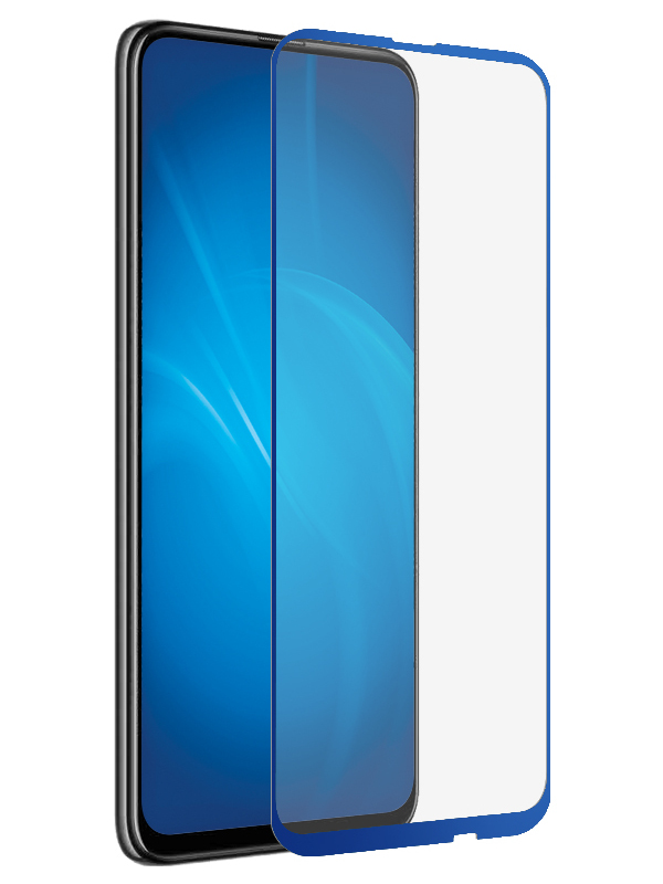 Защитный экран Red Line для Honor 9X / Premium Full Screen Tempered Glass Glue Blue УТ000018719