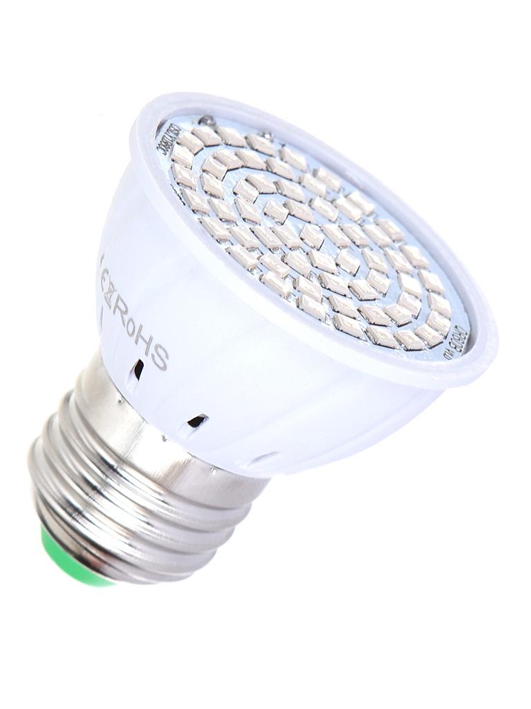 Светодиодный фитосветильник URM 60 LED 220V 6W IP42 URM-FITO-P27-60 F10019