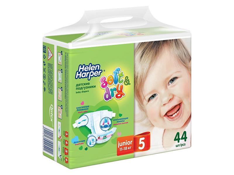 Подгузники Helen Harper Soft & Dry Junior 11-18кг 44шт 2314660