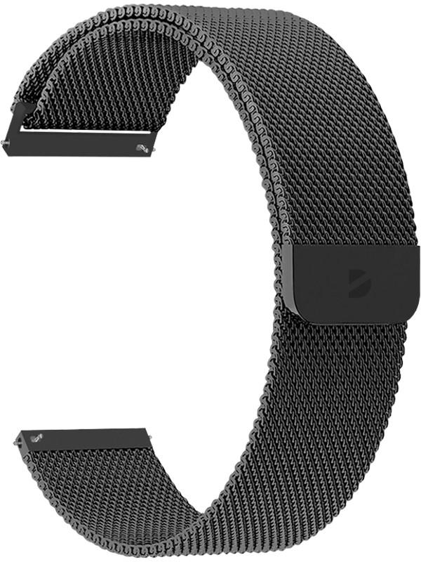 Аксессуар Ремешок Deppa универсальный Watch Band Mesh 22mm Black 47183