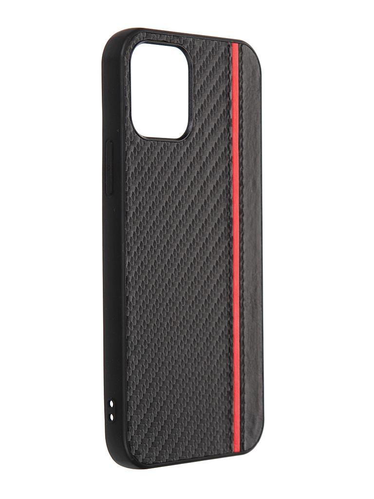 Чехол G-Case для Apple iPhone 12 / Pro Carbon Black GG-1300