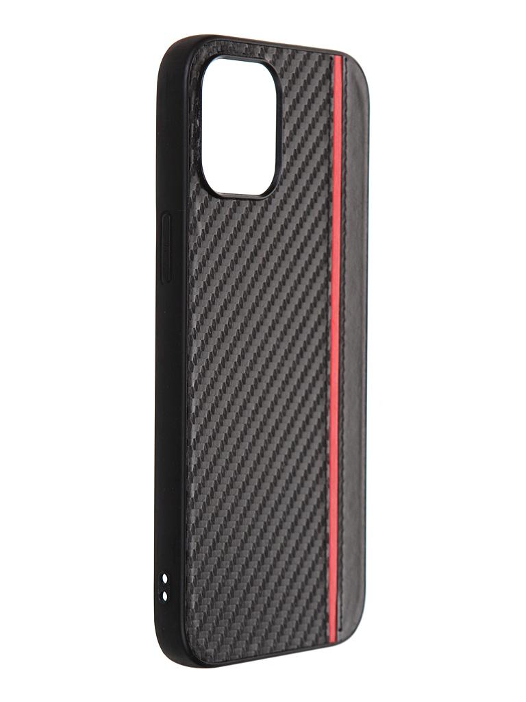 Чехол G-Case для Apple iPhone 12 Pro Max Carbon Black GG-1301