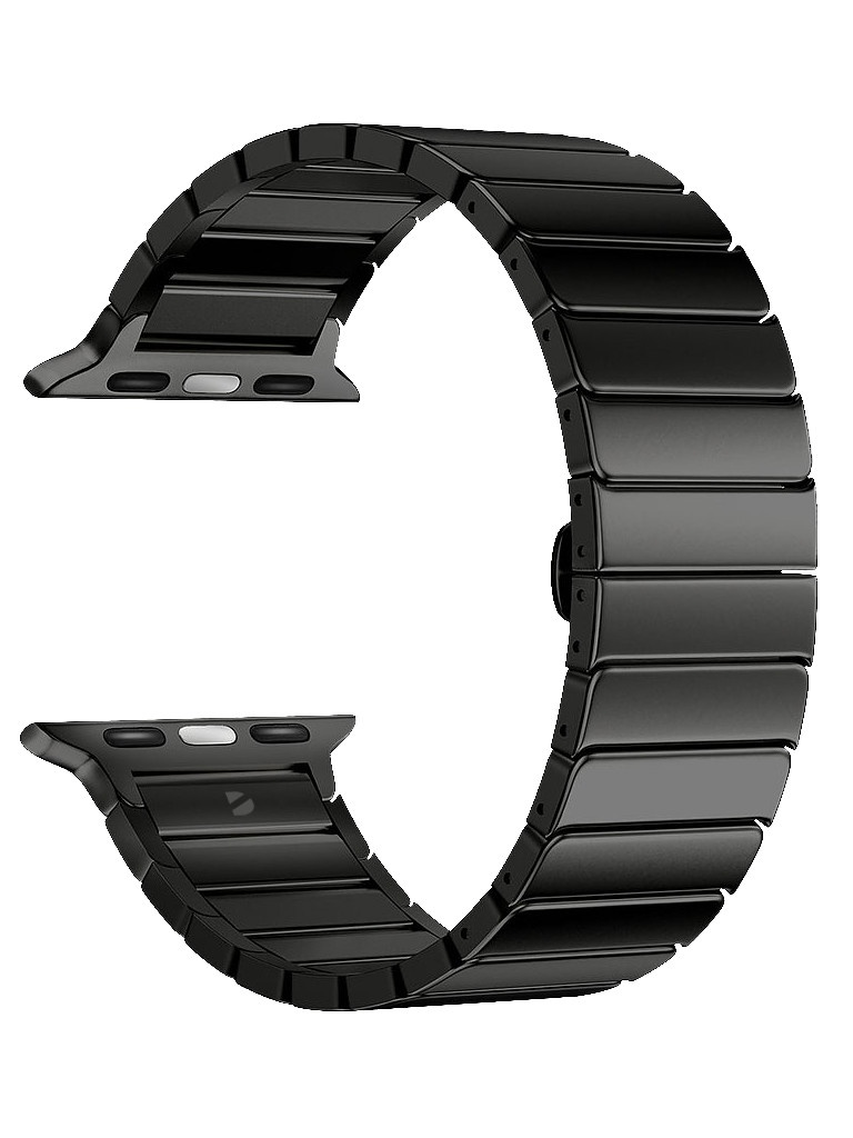 Аксессуар Ремешок Deppa для APPLE Watch 40mm/38mm Band Steel Black 47137
