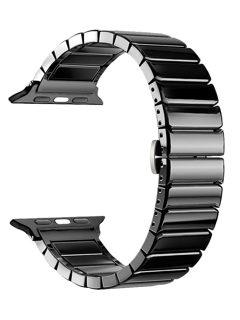 Аксессуар Ремешок Deppa для APPLE Watch 40mm/38mm Band Ceramic Black 47119