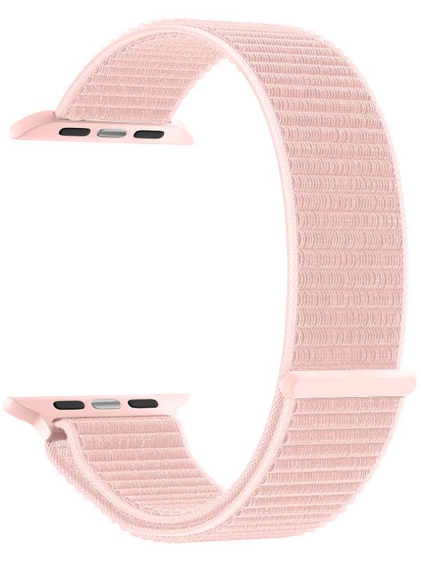 Аксессуар Ремешок Deppa для APPLE Watch 40mm/38mm Band Nylon Pink 48102