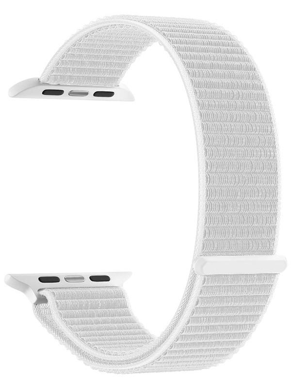 Аксессуар Ремешок Deppa для APPLE Watch 40mm/38mm Band Nylon White 48103 аксессуар ремешок deppa для apple watch 40mm 38mm band nylon white 48103