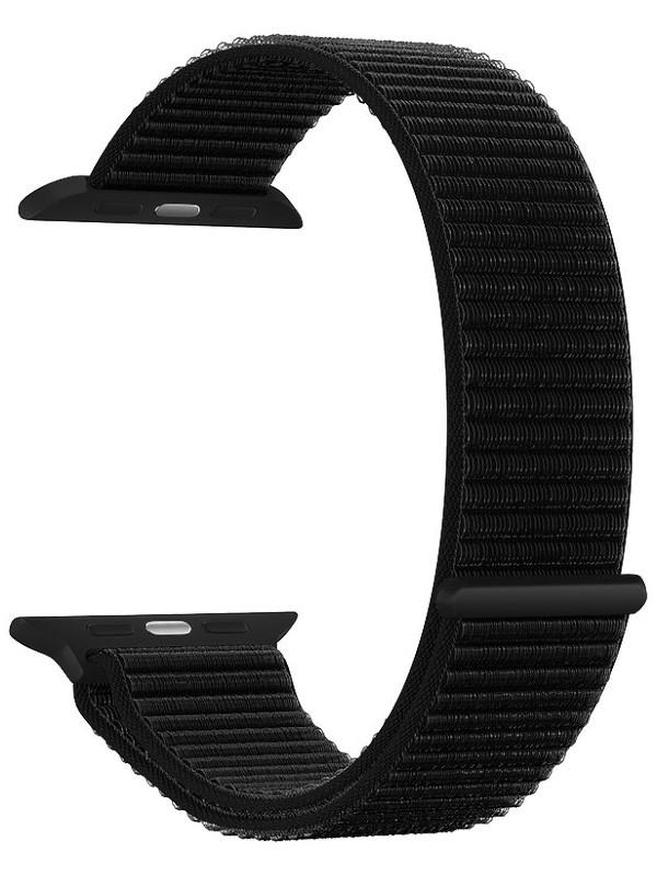 Аксессуар Ремешок Deppa для APPLE Watch 44mm/42mm Band Nylon Black 48104