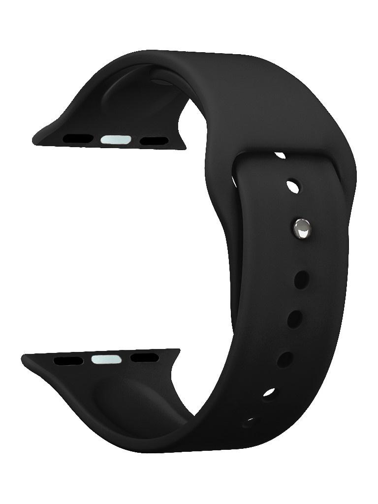 Аксессуар Ремешок Deppa для APPLE Watch 44mm/42mm Band Silicone Black 47129
