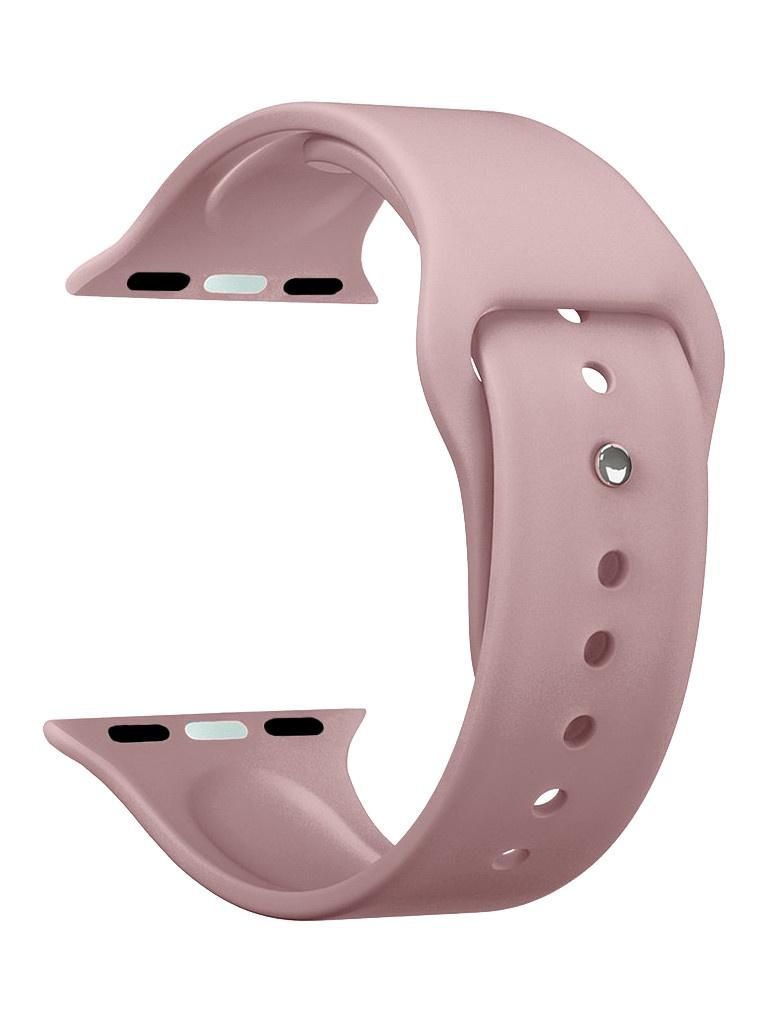 Аксессуар Ремешок Deppa для APPLE Watch 44mm/42mm Band Silicone Pink 47131