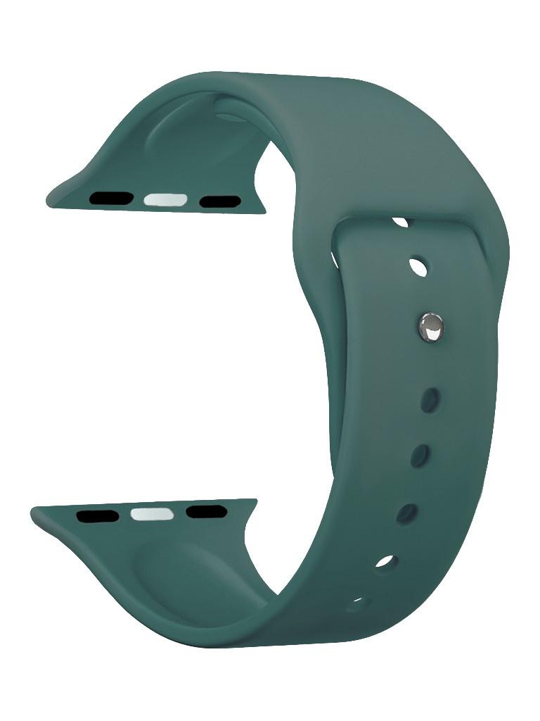 Аксессуар Ремешок Deppa для APPLE Watch 44mm/42mm Band Silicone Green 47133