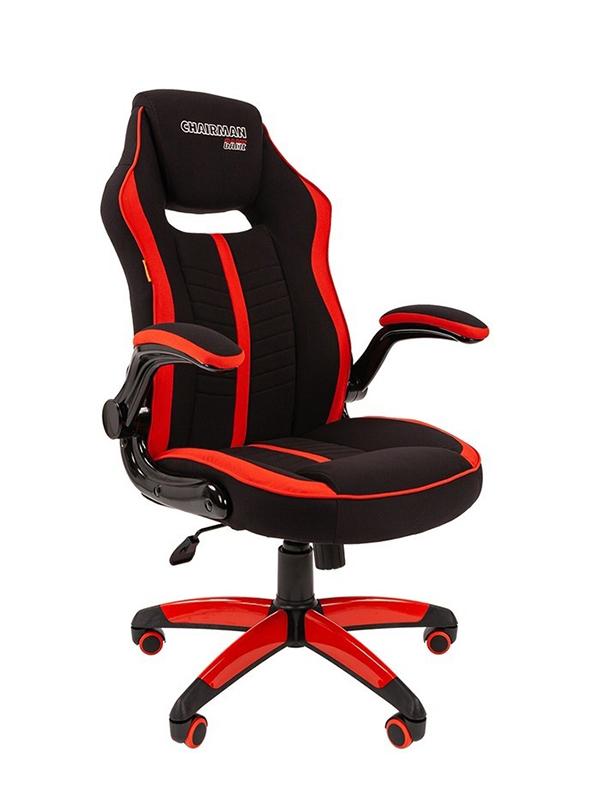 Компьютерное кресло Chairman Game 19 Black-Red 00-07060634