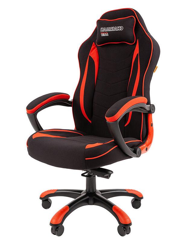 Компьютерное кресло Chairman Game 28 Black-Red 00-07059196 + подарочный сертификат (200 руб)