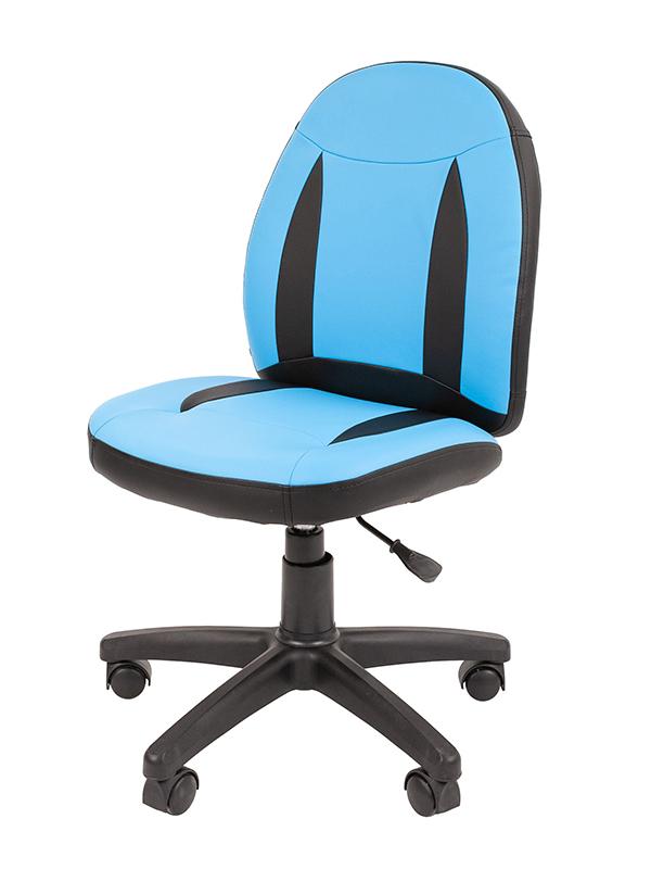 Компьютерное кресло Chairman Kids 122 Blue-Black 00-07051682 + подарочный сертификат (200 руб)