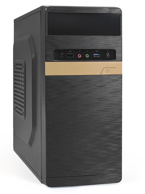 Корпус ExeGate Minitower BAA-105U без БП Black 286837