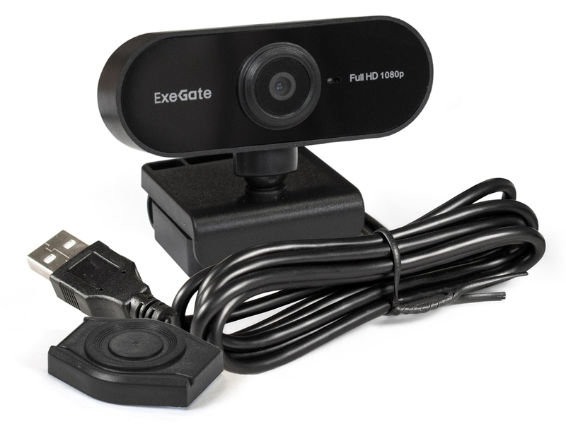 Вебкамера ExeGate Stream C925 FullHD T-Tripod 287379