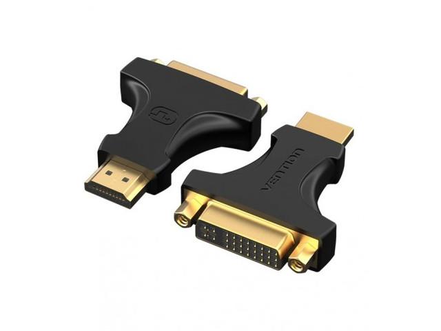 Фото - Аксессуар Vention DVI 24+5 F - HDMI 19M AIKB0 переходник hdmi f hdmi f vention h380hdff