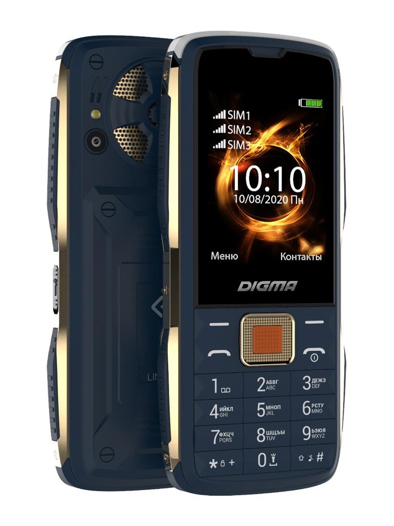 Сотовый телефон DIGMA Linx R240 Blue телефон digma linx a241 black
