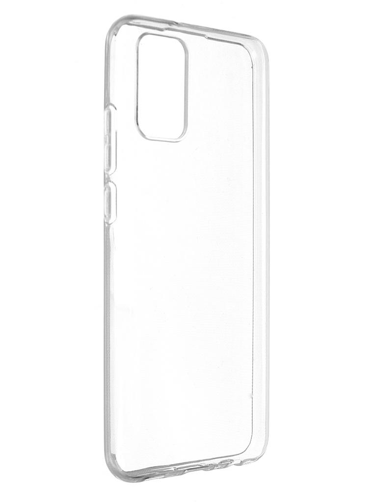 Чехол Brosco для Samsung Galaxy A02S SS-A02S-TPU-TRANSPARENT чехол brosco для samsung galaxy s10e silicone transparent ss s10e tpu transparent