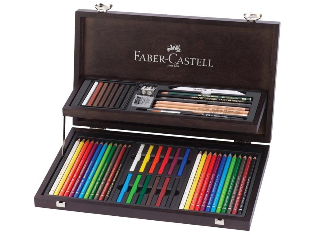 Набор художественный Faber-Castell Art & Graphic Compendium 54 предмета 110088