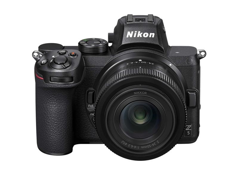 Фото - Фотоаппарат Nikon Z 5 Kit Nikkor Z 24-50 mm f/4-6.3 + FTZ объектив nikon 35mm f 1 8 nikkor z nikon z черный [jma102da]