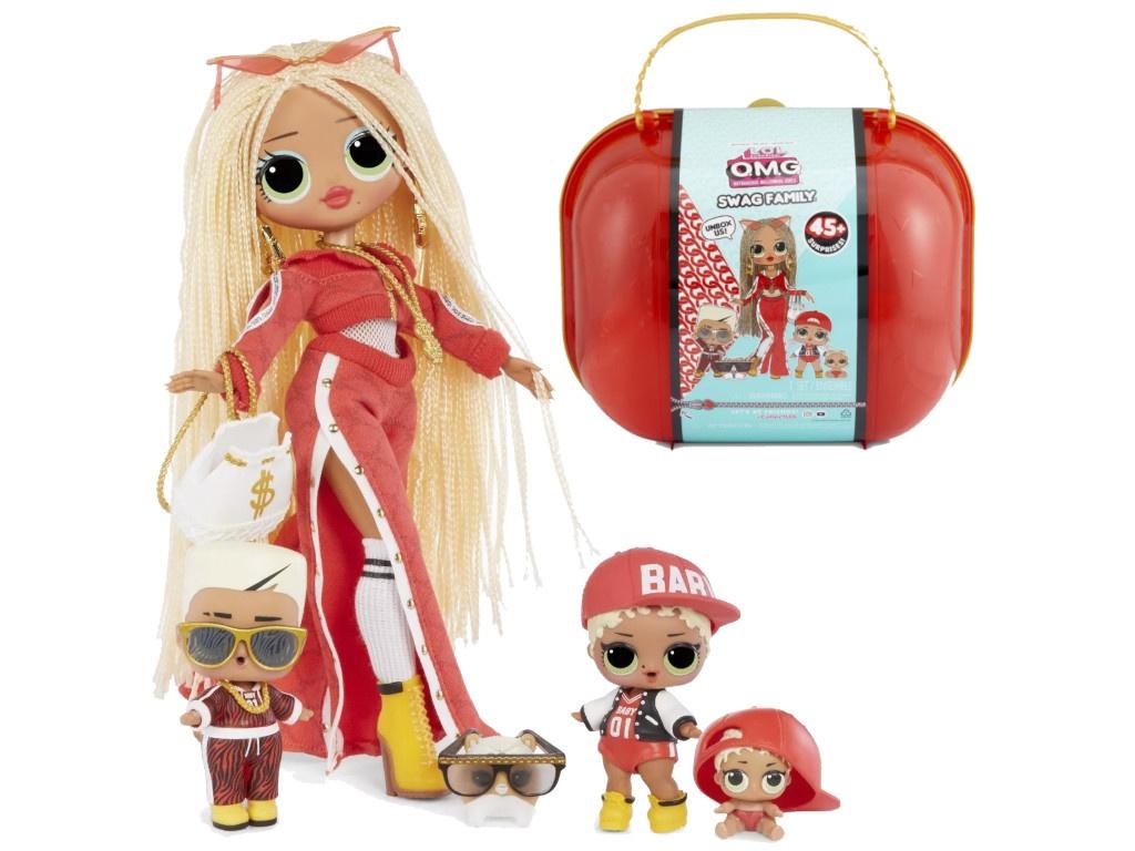 Кукла LOL Surprise OMG Swag Family 422099