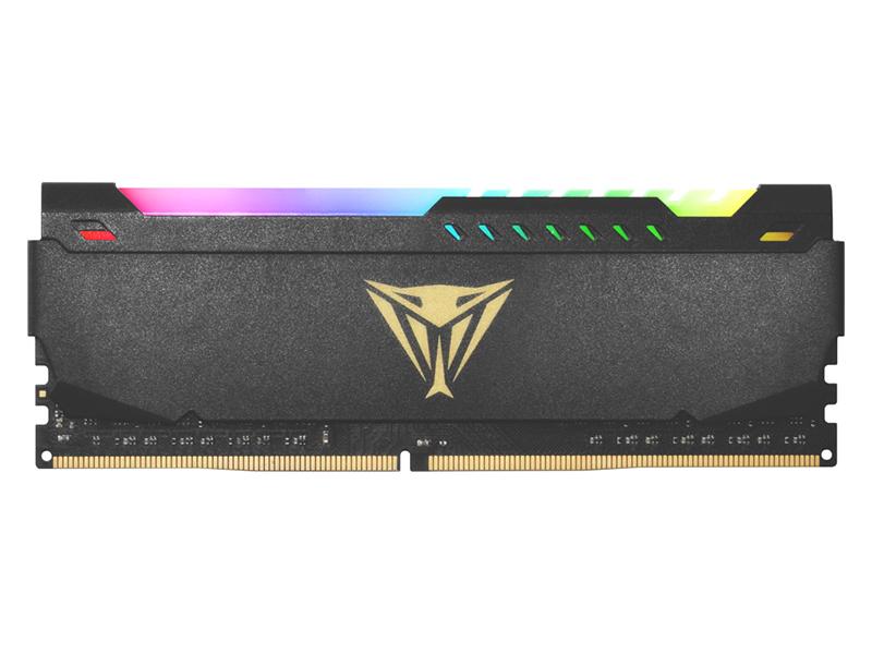 Модуль памяти Patriot Memory Viper Steel RGB DDR4 DIMM 3600MHz PC4-28800 CL20 - 32Gb PVSR432G360C0