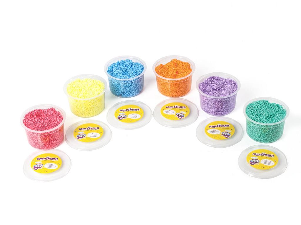 Набор для лепки Юнландия Пластилин шариковый Юнландик-кондитер 6 цветов по 125ml 105027