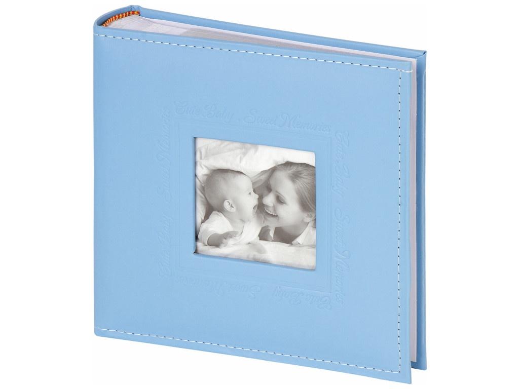 Фотоальбом Brauberg Cute Baby 10х15cm Blue 391142