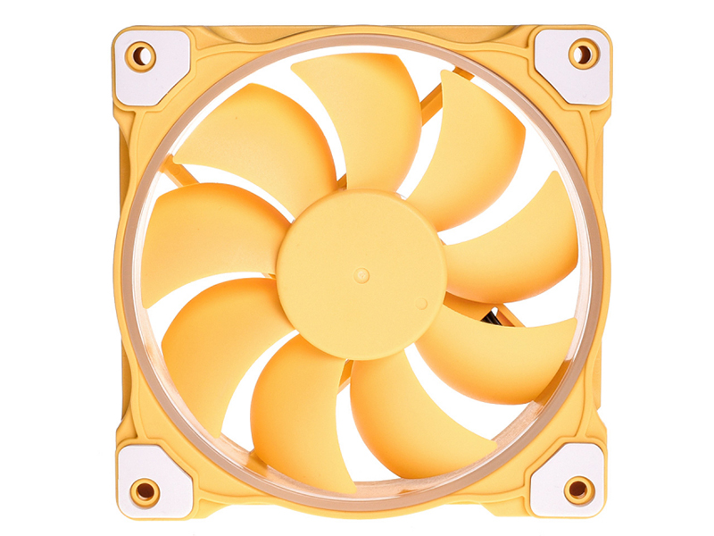Вентилятор ID-Cooling ZF-12025 Lemon Yellow