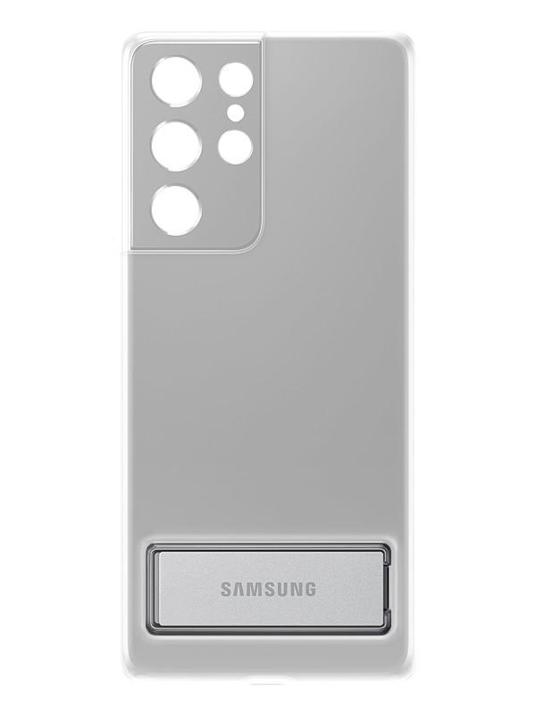 Чехол для Samsung Galaxy S21 Ultra Clear Standing Cover Transparent EF-JG998CTEGRU