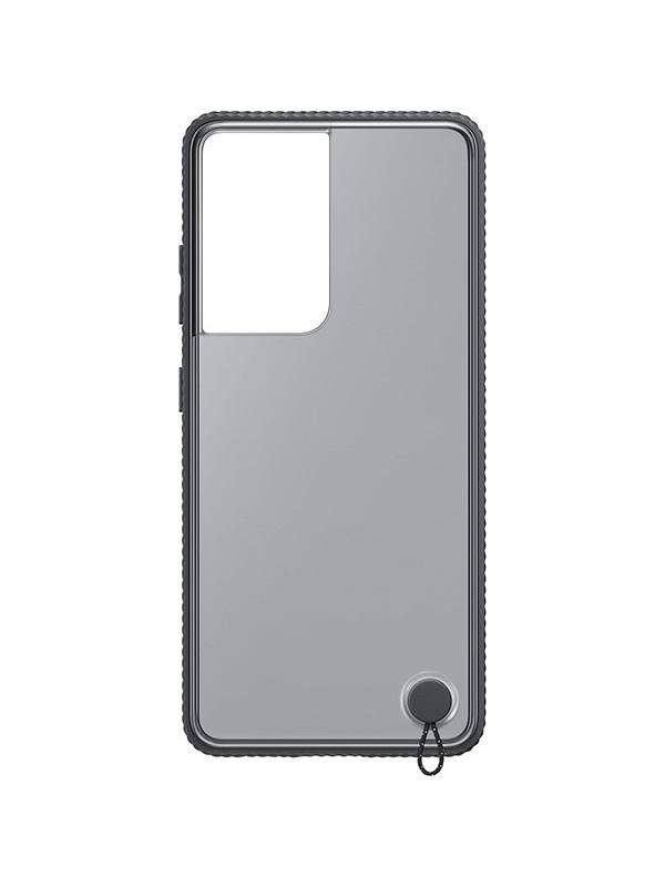 Чехол для Samsung Galaxy S21 Ultra Protective Standing Cover Transparent-Black EF-GG998CBEGRU