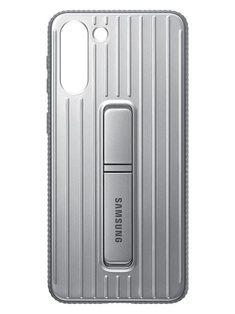 Чехол для Samsung Galaxy S21+ Protective Standing Cover Light Gray EF-RG996CJEGRU