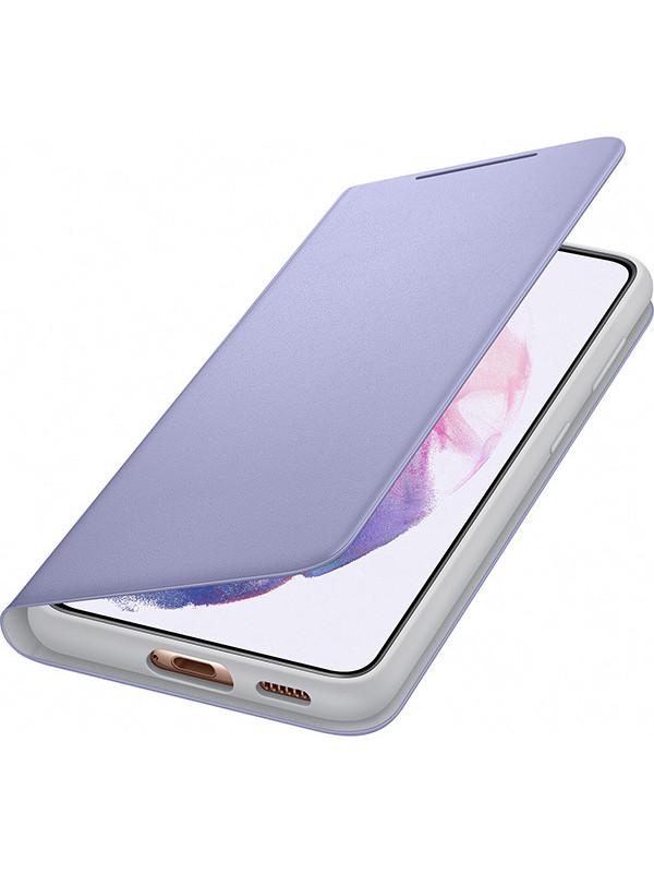 Чехол для Samsung Galaxy S21 Smart LED View Cover Purple EF-NG991PVEGRU