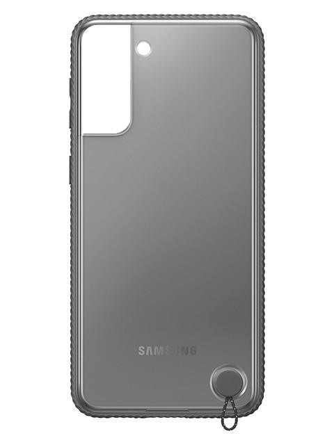 Чехол для Samsung Galaxy S21 Protective Standing Cover Transparent-Black EF-GG991CBEGRU