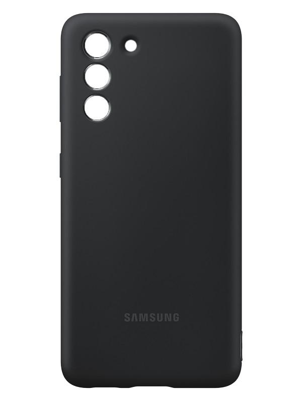 Чехол для Samsung Galaxy S21 Silicone Cover Black EF-PG991TBEGRU