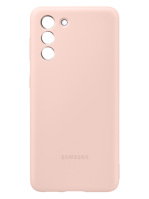 Чехол для Samsung Galaxy S21 Silicone Cover Pink EF-PG991TPEGRU