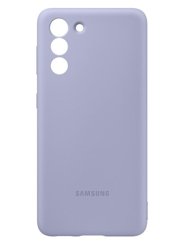 Чехол для Samsung Galaxy S21 Silicone Cover Purple EF-PG991TVEGRU