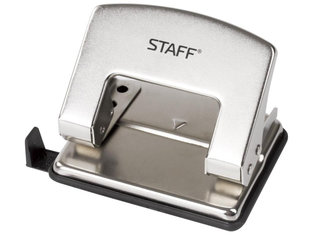 Дырокол Staff Design до 20 листов Nickel 226856