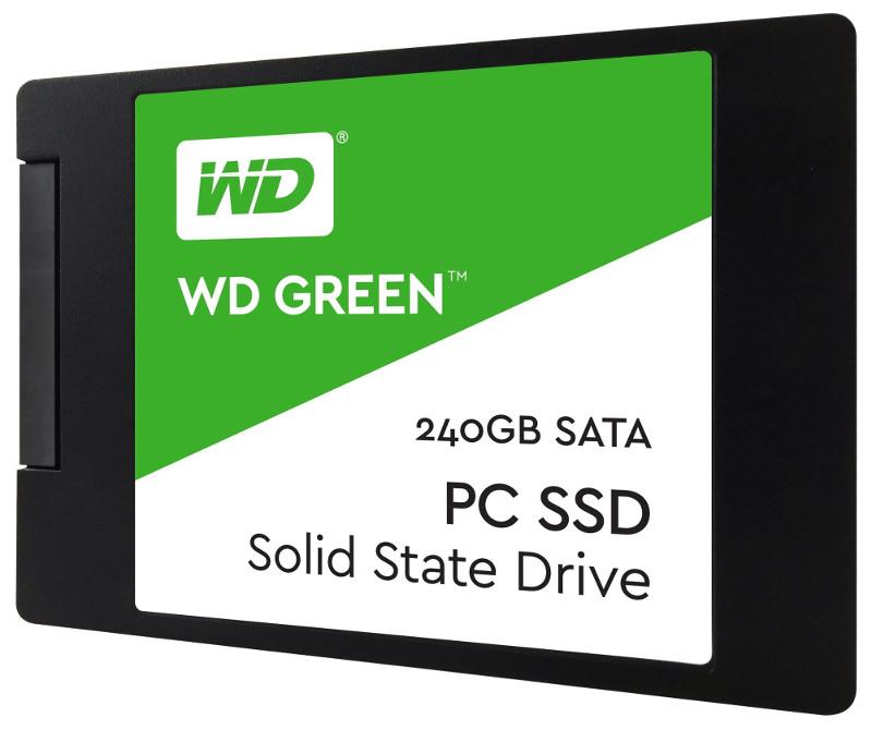Твердотельный накопитель Western Digital WD 240Gb Green WDS240G2G0A Выгодный набор + серт. 200Р!!!